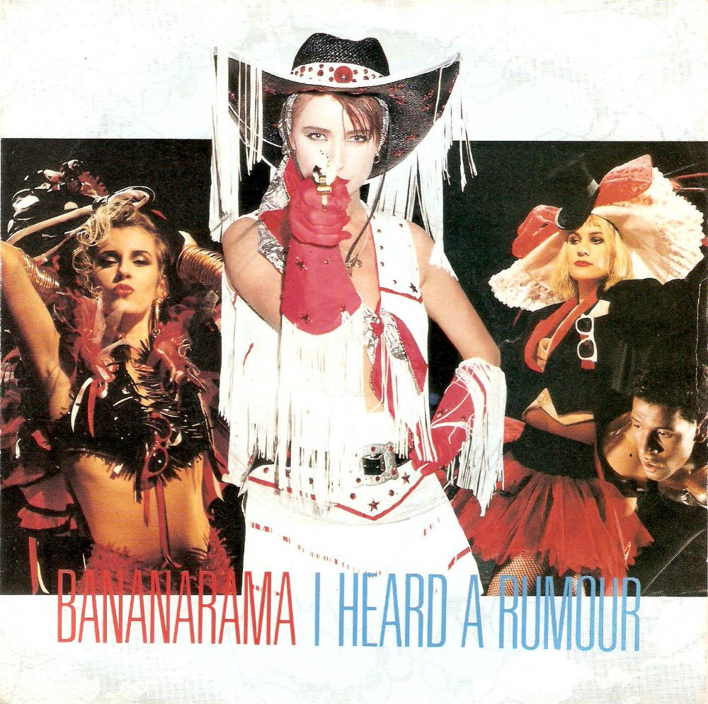 BANANARAMA I Heard A Rumour Vinyl Record 7 Inch London 1987